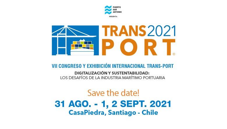 Trans-Port 2021 el punto de encuentro de la industria portuaria en Chile comienza preparativos para su versión 2021
