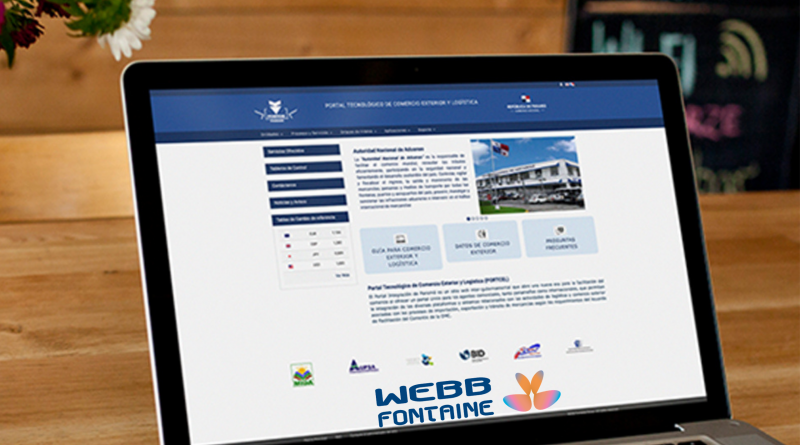 Webb Fontaine participa en Trans Port con soluciones informáticas para facilitar comercio internacional y transporte.