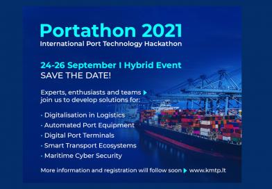 24-26 de septiembre: Portathon, encuentro internacional de tecnología para el sector portuario