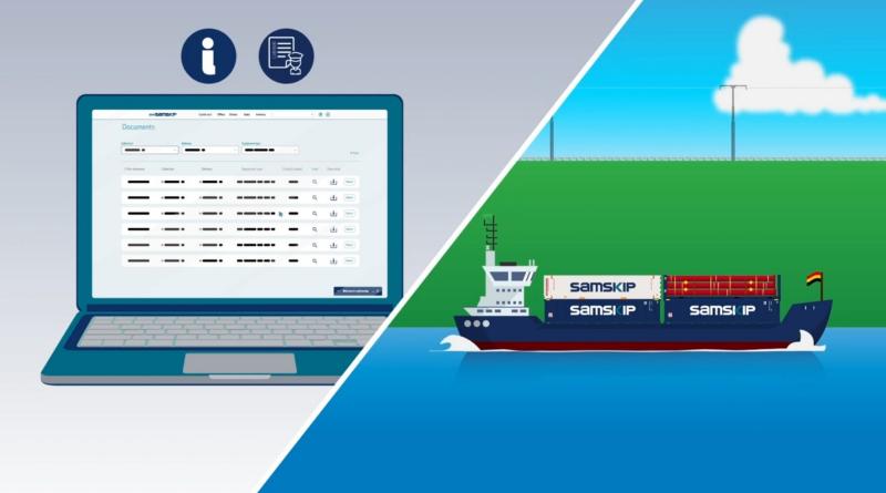 Samskip lanza un portal digital para la gestión de envíos y clientes podrán aprovechar mejor su red multimodal integrada